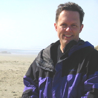 Dr. Michael Russell at the beach picture